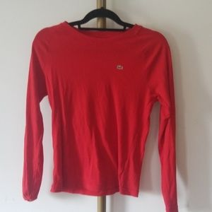 Lacoste Long Sleeved Shirt